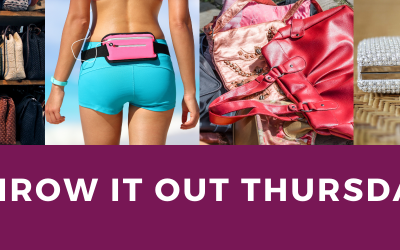 Throw it out Thursday – Pocketbook Purge