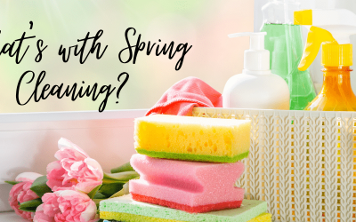 Spring Cleaning, do we need to do it?