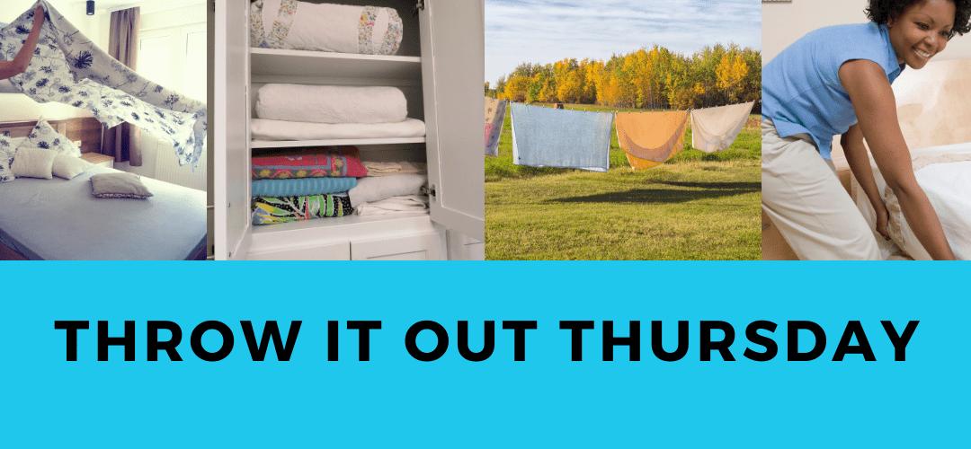 Storing Sheets, Gaining Closet Space & Saving Time