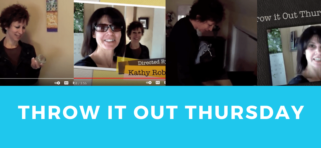 Throw it out Thursday at My Sister Marias (From 2012! SO FUN!)
