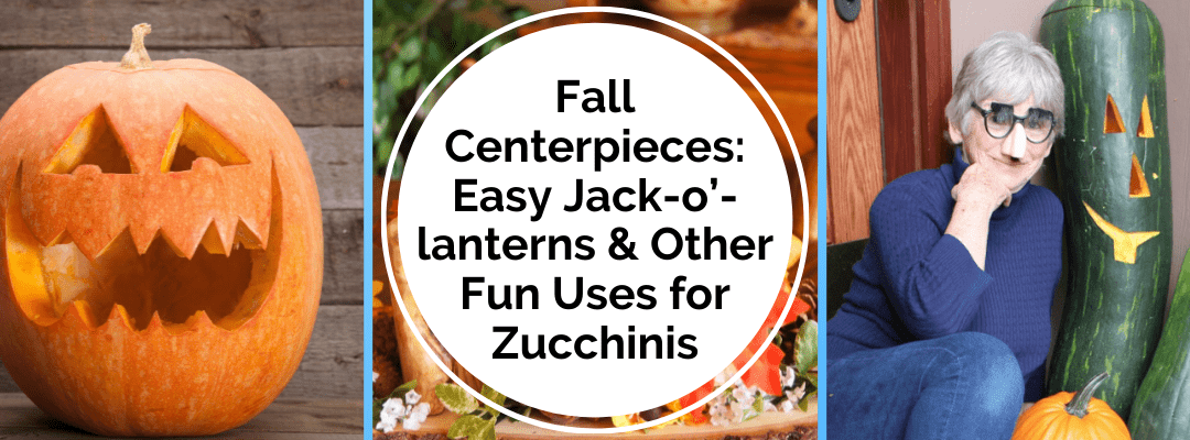 Easy Jack-o'-lanterns & Other Fun Uses for Zucchinis